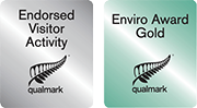 Qualmark Endorsed Visitor Activity, Qualmark Enviro Award Gold