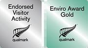 Qualmark Endorsed Visitor Activity, Qualmark Enviro Award Gold